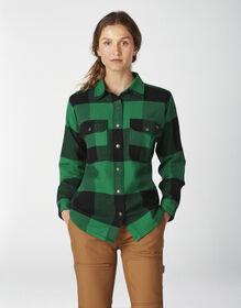 Women's DuraTech Renegade Flannel Shirt - Buffalo Kelly Green (AP2)