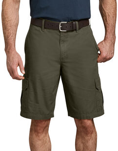 "11"" Relaxed Fit Lightweight Ripstop Cargo Short - Moss Green (RMS)"