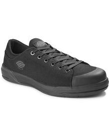 Women's Supa Dupa Steel Toe Shoes - Blackout (SLD)