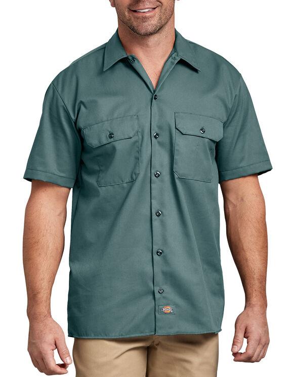 Chemise de travail à manches courtes - Vert Lincoln (LN)
