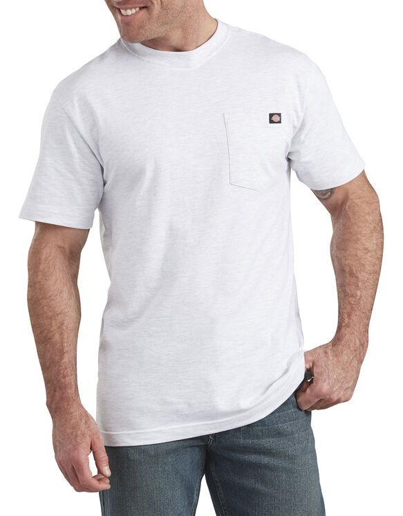 Short Sleeve Pocket T-Shirt - Ash Gray (AG)
