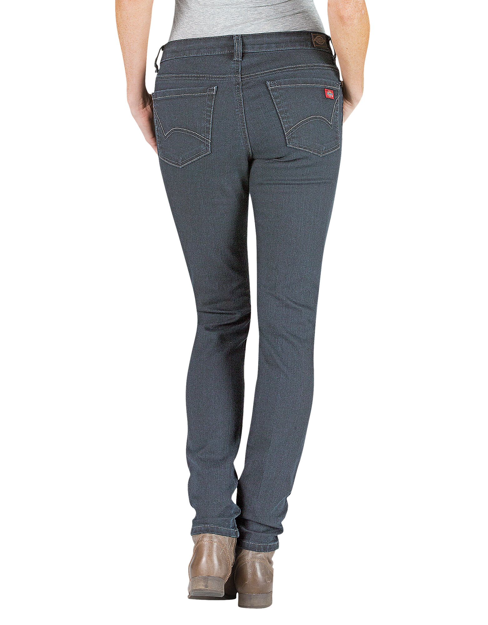 Women's Slim Fit Skinny Leg Denim Jean ANTIQUE DARK ...