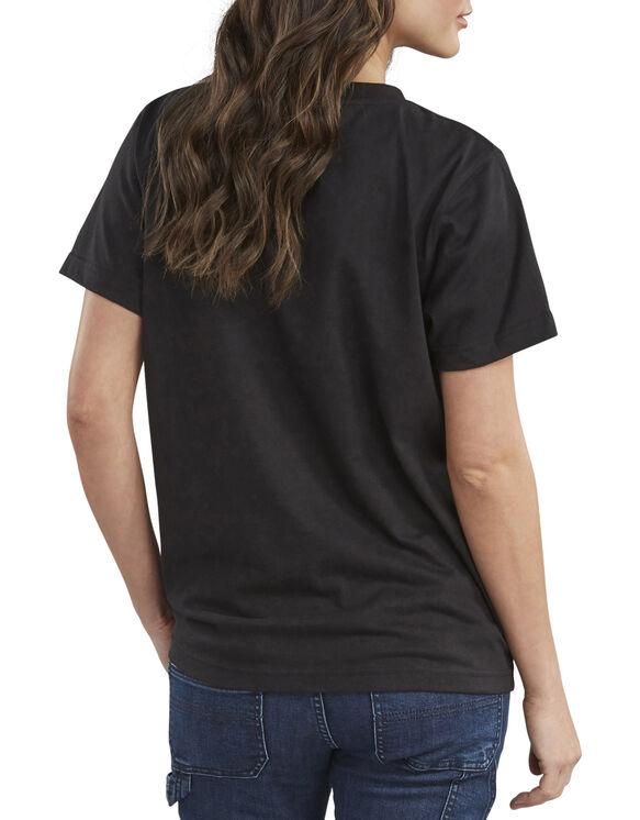 Women's Short Sleeve Heavyweight T-Shirt - Black (BK)