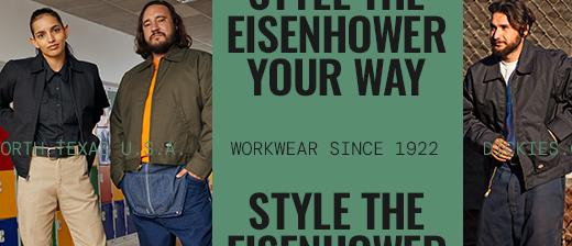 Eisenhower jacket collage