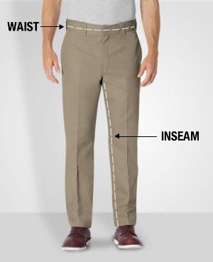 Measuring for Fit for Men's Pants