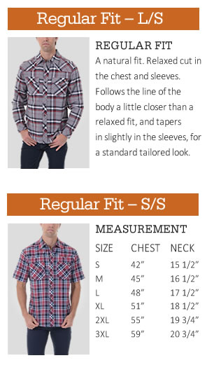 Dickies Regular Fit Guide for Young Men