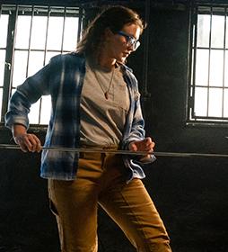 Women's Stretch Double-Front Carpenter Pants