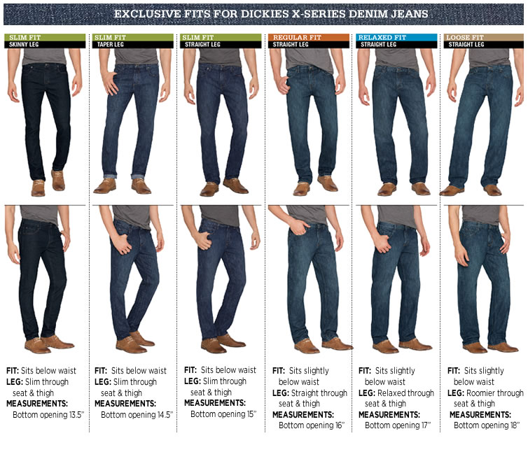 Mens' X-Series Denim Jeans