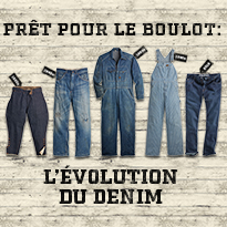Evolution of Denim Workwear