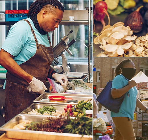 Chef Fullilove advocates in the importance of locally sourced produce