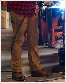 Pantalons durables pour hommes