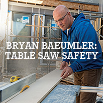 Table Saw Safety
