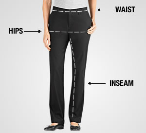 Measuring for Fit for Women's Pants