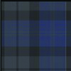 Navy Blue White Plaid (PUO)