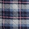 Navy/Dusky Orchid Plaid (AUP)