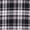 D4126 N PLAID 002 DICKIES BLAC (CF6)