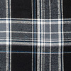CANADA PLAID BLACK/BLUE F14M00 (B42)